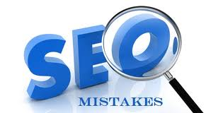 SEO mistakes