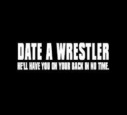 Top 10 reasons to date a wrestler sweatshirts from Zazzle.com More